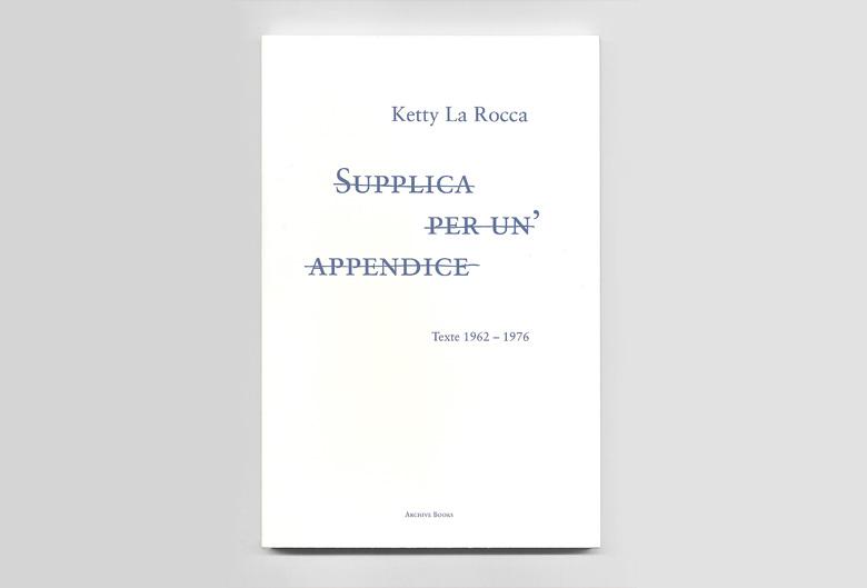 Publikationen for Ketty la rocca